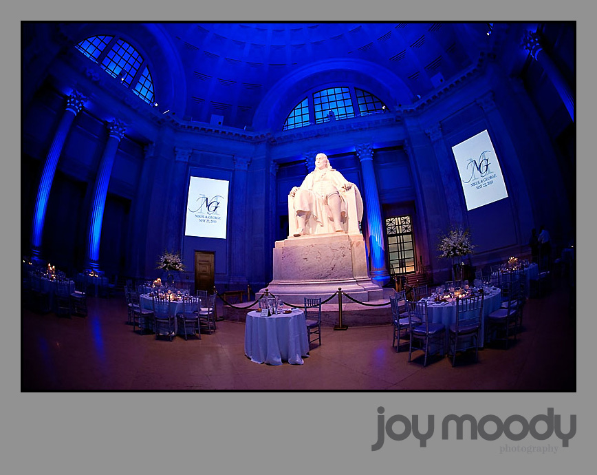 Joy Moody Franklin Institute Wedding