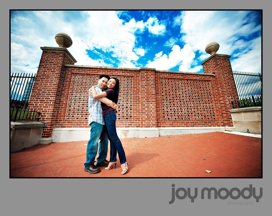 Joy Moody Philadelphia Old City Engagement Shoot