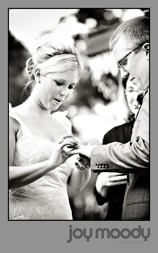 Joy Moody Glenfoerd Wedding